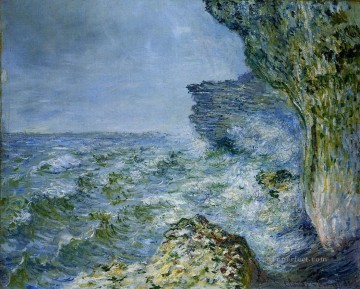 Claude Monet Painting - The Sea at Fecamp Claude Monet